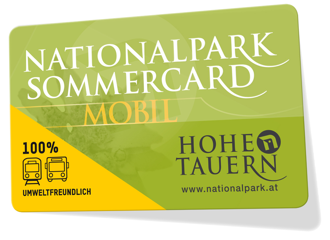 Nationalpark Sommercard Mittersill